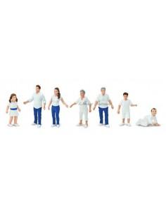 7 figurines Famille