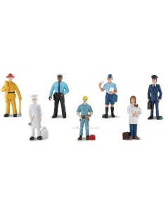 7 figurines métiers