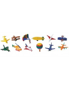 12 figurines dans le ciel