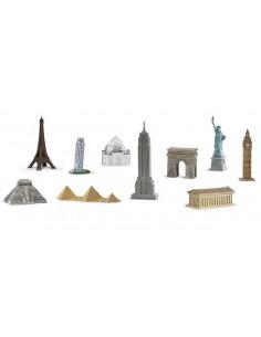 10 figurines monuments monde 2