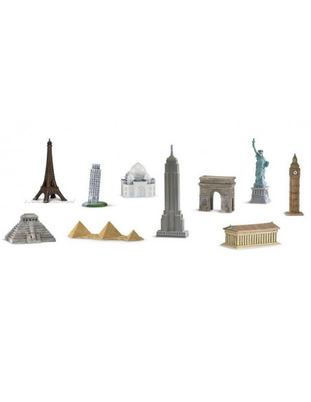 10 figurines monuments monde 2