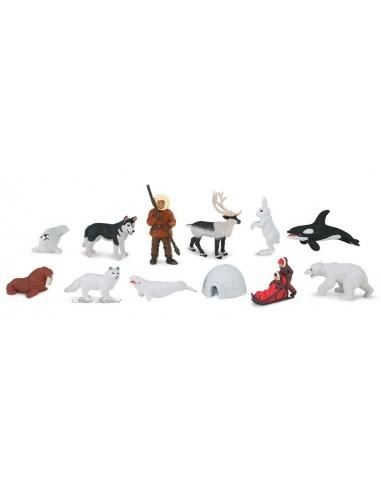 12 Figurines sur l'Arctique