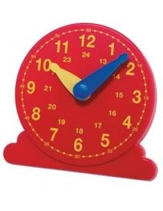 Horloge élève rouge