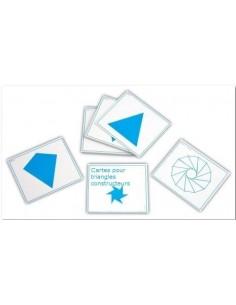 Cartes pour triangles constructeurs