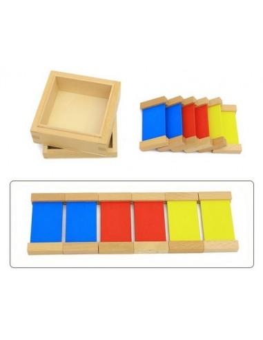 boite couleurs n 1 en bois montessori s 39 amuser autrement