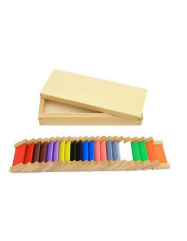 boite couleur n 2 en bois montessori s 39 amuser autrement. Black Bedroom Furniture Sets. Home Design Ideas