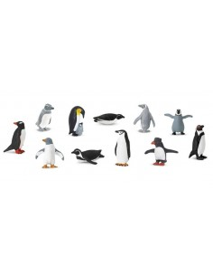 11 figurines Manchots
