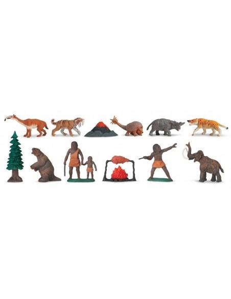 12 figurines Vie Préhistorique