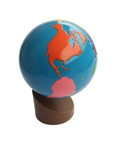 Globe Parties Du Monde Montessori S 39 Amuser Autrement