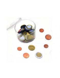 Lot de 50 pièces de monnaie européenne