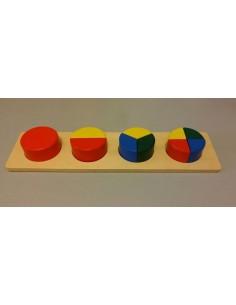 Plateau des cercles fractionnés