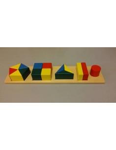 Plateau des formes géométriques