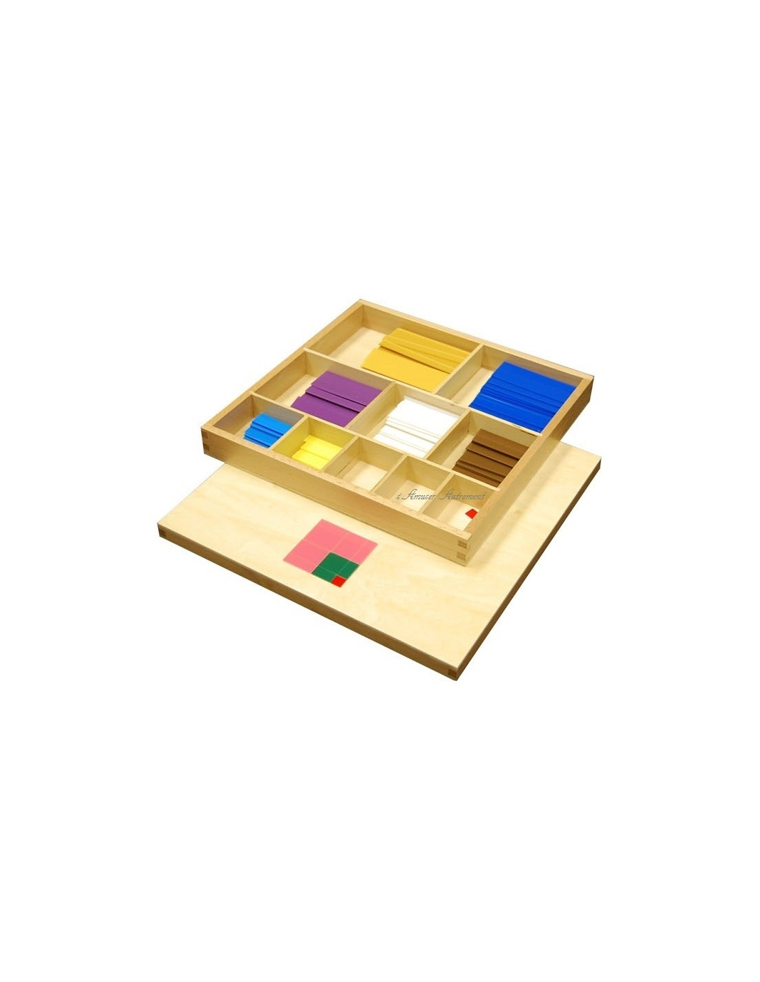Table de pythagore sensorielle montessori s 39 amuser autrement - Table de pythagore montessori ...