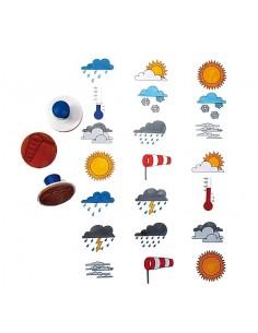 Tampons météo lot 2