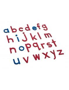 Lettres minuscules d'imprimerie