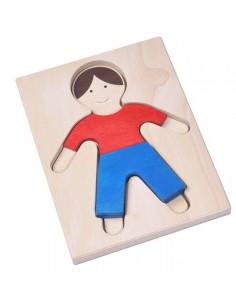 Puzzle garçon 4 pièces