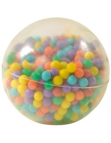 Balle souple avec perles