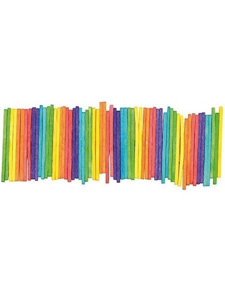Lot de 1000 allumettes colorées