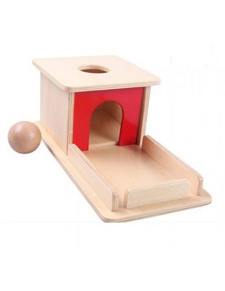 Permanence de l'objet avec plateau balle bois