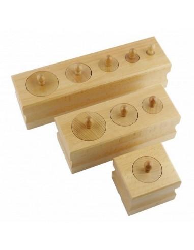 Mes premiers blocs des cylindres