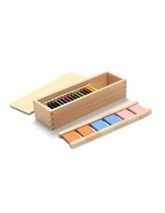 Boite couleurs n°2 en bois haut de gamme