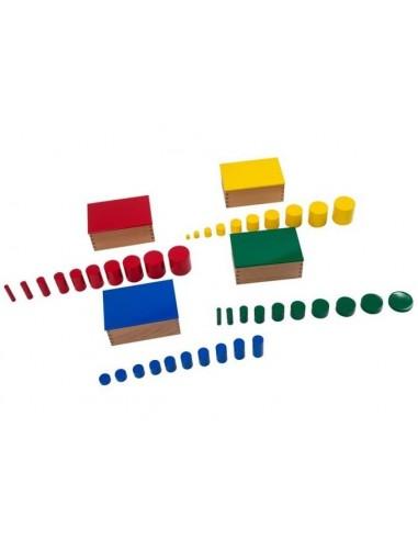 Cylindres colorés