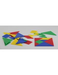 Lot de 168 pièces de tangrams