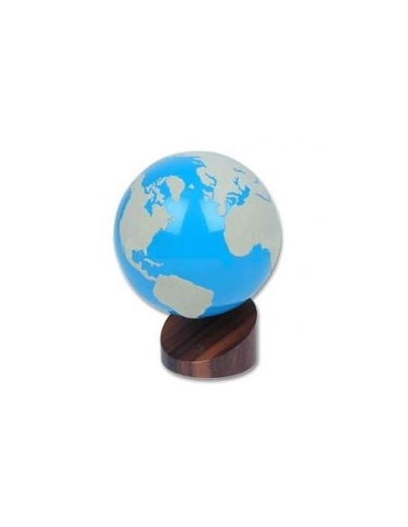 Globe rugueux Terres et Mers blanc Déstockage