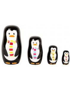 Matriochka - Famille Pingouin