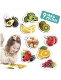 Maxi Puzzles les aliments sains