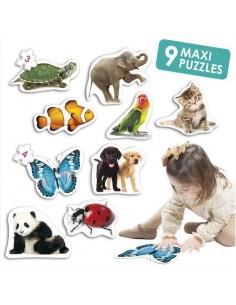 Maxi Puzzles les animaux