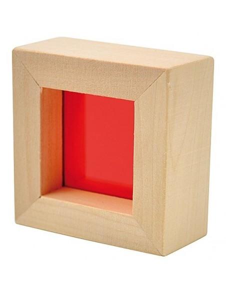 Jeu de construction coloré translucide