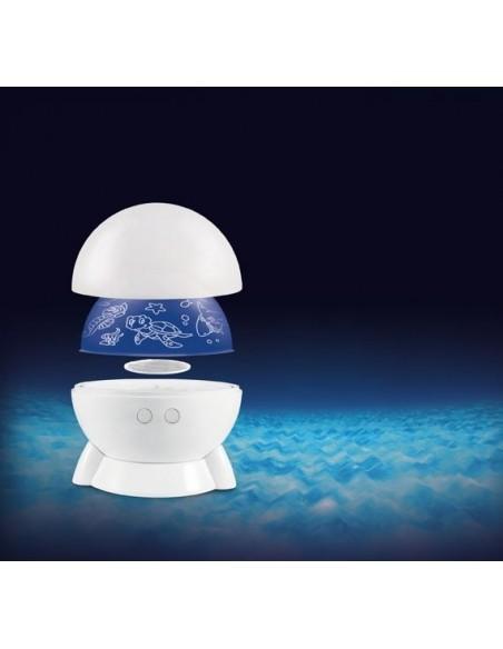 Projecteur de lumière et veilleuse