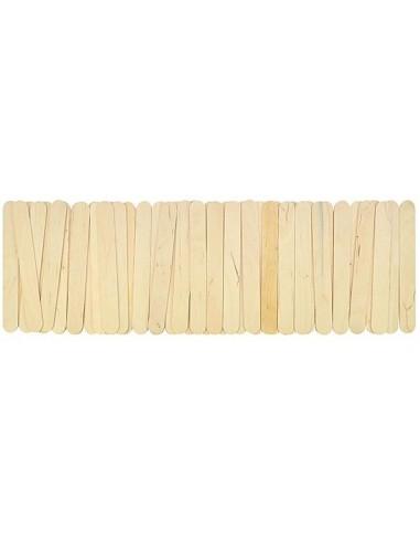 Bâtonnets bois nature, grand modèle