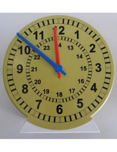 Horloge de démonstration synchrone à socle