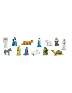 13 figurines la Nativité