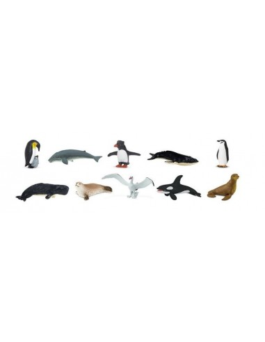 10 figurines Antarctique
