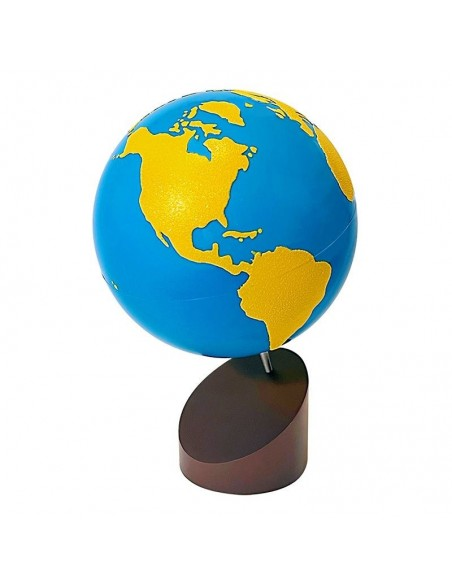 Globe rugueux Terres et Mers haut de gamme