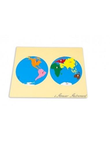 Planisphère petit modèle - Déstockage