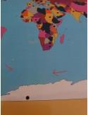 Puzzle des drapeaux du Monde Haut de gamme Déstock
