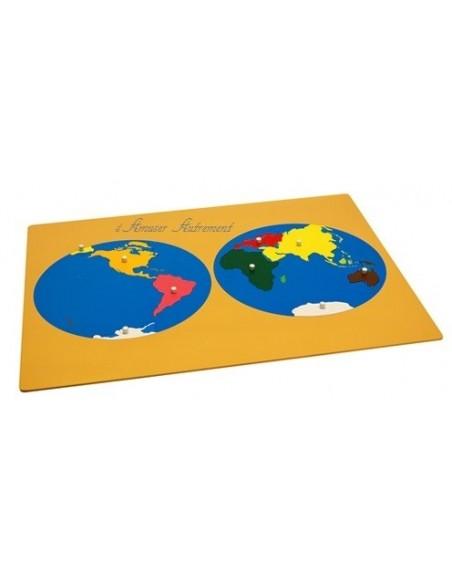 Planisphère grand modèle