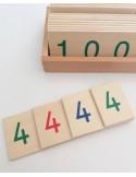 Petites cartes des nombres Européennes haut de gamme