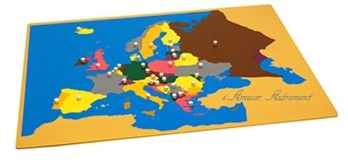 carte europe montessori