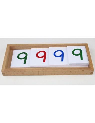 Grandes cartes des nombres en PVC 1-9000