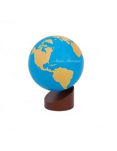 Globe rugueux Terres et Mers