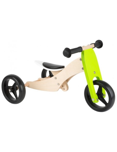 Tricycle-Draisienne en bois