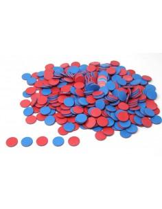 400 jetons réversibles bicolores