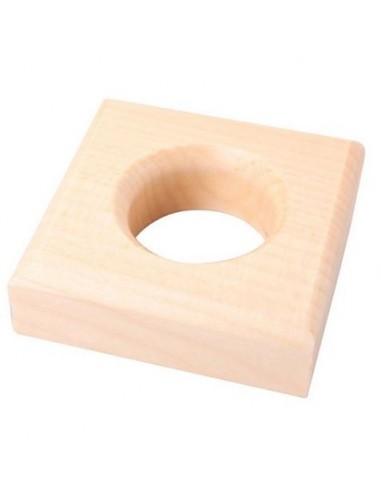 base pour solides géométriques bleus