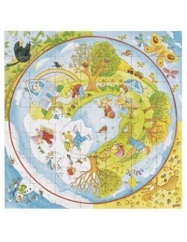 Puzzle des saisons