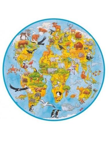 Puzzle du monde XXL